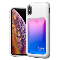 Чехол VRS Design Damda High Pro Shield для iPhone X/XS Pink Blue