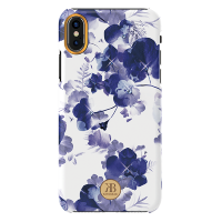 Чехол Kingxbar Blossom для iPhone X/Xs Orchid